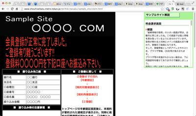 Fake site 01